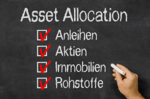 Ideen fuer Asset-Allocation auf Blackboard